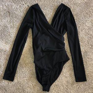 Topshop Deep V Bodysuit